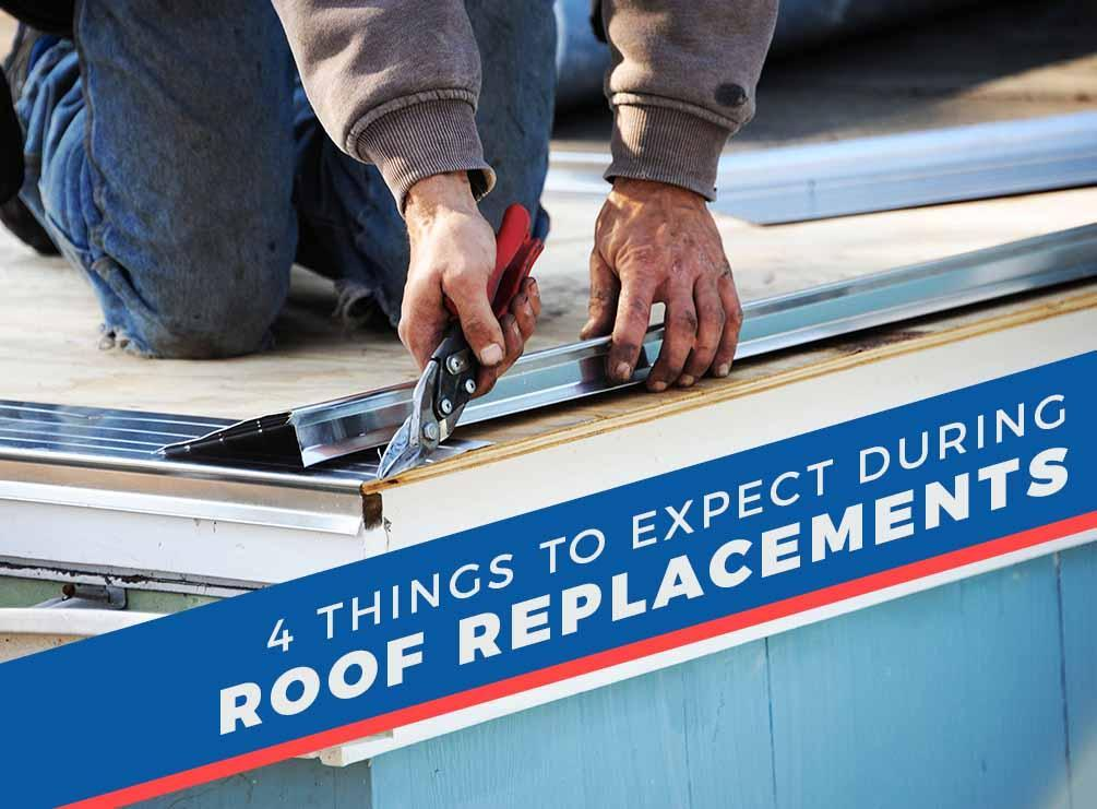 Things To Expect During Roof Replacements