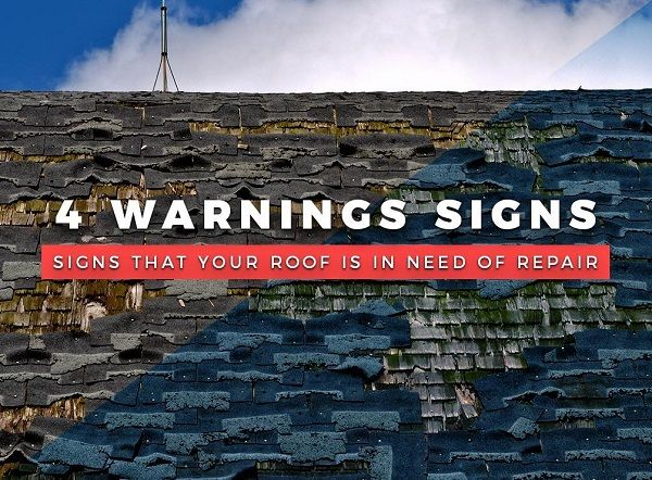4 Warnings Signs That Your Roof Is in Need of Repair