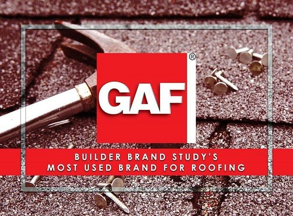 Builder Brand Study's Most Used Brand For Roofing