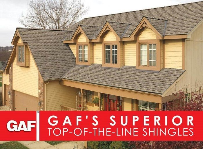 GAF's Superior Top-of- the-Line Shingles